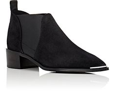 Acne Studios Jenny Suede Chelsea Boots - Boots - 504976098