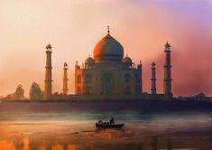 The Taj Mahal (Agra)
