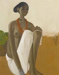 B. Prabha | Abstract Figure painter | Tutt'Art@ | Pittura * Scultura * Poesia * Musica |