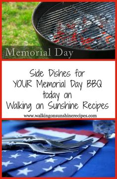 memorial day bbq dishes