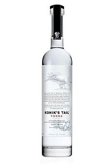 Konik's Tail vodka is now stocked by almost 200 upmarket outlets