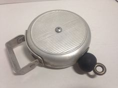 AWESOME VINTAGE CORDOMATIC RETRACTABLE CLOTHESLINE REEL #Cordomatic