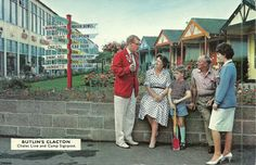 Found on Google from flickr.com Butlins Holidays, British Holidays, Holiday Day, Camps, Car Parking, Vintage Postcards, Nostalgia, The Past, Couple Photos