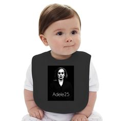 Adele 25 Baby Bib