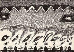 Franco Purini, Senza titolo, anni '70, Inchiostro su carta, 10x14 cm #sketch