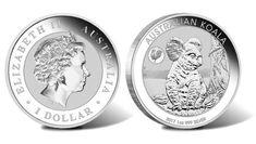 2017 Australian Koala with Rooster Privy 1oz Silver Bullion Coin