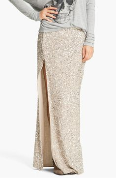 if only i had a grand burning a hole in my pocket......Haute Hippie Embellished Maxi Skirt