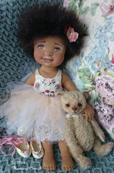 Amelie Soft Sculpture Art Doll by MarianneCornish on Etsy