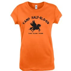 Amazon.com: Camp Half Blood shirt - not sure i would ever wear this, except for the weeks im teaching the lightning thief