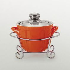 Cello Cuoco Round Casserole With Stand Orange - Add oodles of style to your home with an exciting range of designer furniture, furnishings, decor items and kitchenware. We promise to deliver best quality products at best prices.