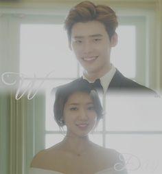 Ending scene Pinocchio - Park Shin Hye & Lee Jong Suk - Cr: 육눈알