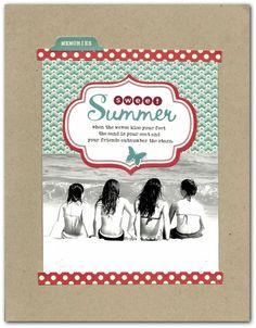-Sweet Summer- - Scrapbook.com