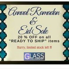Annual Ramadan & Eid Promotion ! Coupon Code : EID2016