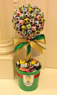 World cup, Brazil chocolate footballs Candy Tree www.candytreescambridge.co.uk