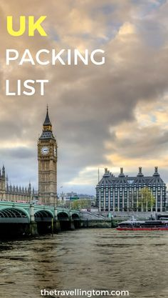 A UK packing list is essential to come up with before your trip. Knowing what to pack for the UK is important, due to the volatile weather. Packing for the UK is made easier with my guide! Check it out now!  UK travel | travel gear | packing list | visit the UK | what to wear in the UK | what to take to the UK | what to pack for the UK | London packing list | what to bring to the UK #UKTravel #TravelGear