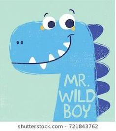 cute dinosaur illustration as vector for baby tee print - prints - Happy Baby Dinosaur Drawing, Cartoon Dinosaur, Dinosaur Art, Cute Dinosaur, Dinosaur Birthday, Dinosaur Prints, Funny Valentine, Desenho Kids, E21