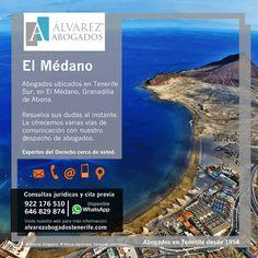 Abogados El Médano, en Granadilla de Abona (Tenerife Sur). Resuelva sus dudas al instante. Le ofrecemos varias vías de comunicación con nuestro despacho de abogados. https://alvarezabogadostenerife.com/?p=5430  #Derecho #Abogados #AlvarezAbogados #Tenerife #SomosAbogados #Justicia #TenerifeSur #ElMédano #Granadilladeabona