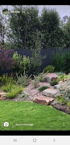 Australian Garden Design, Australian Native Garden, Rock Garden Design, Garden Landscape Design, Yard Design, Garden Ideas Nz, Garden Inspiration, Rock Yard, Garden Bugs