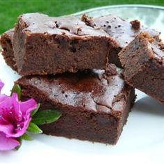 """I don't eat grains or dairy, so this recipe was perfect! I used 1/2 cup of applesauce instead of vegetable oil, and Eggbeaters."" —RHOV (Black Bean Brownies) 