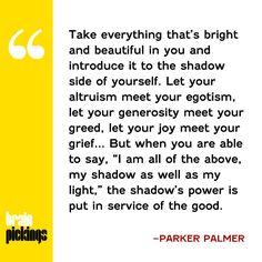 Bravo!! - Parker Palmer