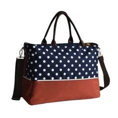 ของดี  Multi Function Contrast Color Dots Changing Bag Nappy Diaper MatTote Bags  ราคาเพียง  740 บาท  เท่านั้น คุณสมบัติ มีดังนี้ Nappy Changing Bag Womens Shoulder Bags Storage Bag Women Tote Bag Mummy Bag Multifunctional Bags Pregnant Women Large Capacity