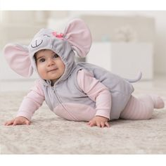 Infant mouse costume - results from brands Disguise Inc, Disney, Incharacter, products like Disney Infant & Toddler Boys Mickey Mouse Costume Jumper with Mouse Ears Hood, Incharacter Infant Lil Mouse Costume, Microsem Infant Pink Minnie Mouse Costume.