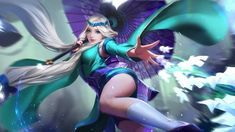 Wallpaper HD Eudora Mobile Legendsis free HD Wallpaper Thanks for you visiting 21 Amazing Mobile Legends Wallpapers Mobile Legends HD Wallp. Female Character Design, Game Character, Character Concept, Bang Bang, Yin Yang, Anime Scythe, Moba Legends, My Little Pony Twilight, The Legend Of Heroes