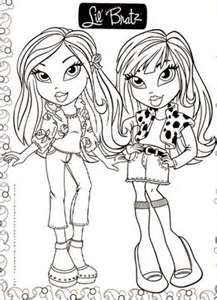 bratz barbie coloring pages - 1000 images about bratz pictures on pinterest chinese