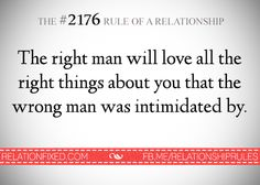 The #2176 Rule of a Relationship