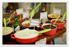 Receitas para festa mexicana