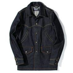 Denim P Coat