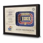 *** Free Ground Shipping on This Item! ***Looking for an unusual gift for your favorite Kansas Jayhawks basketbell fan