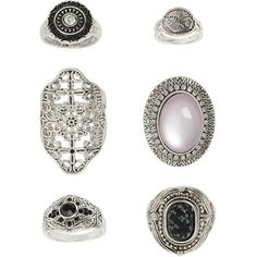 TopShop Engraved Semi Precious Ring ($20) ❤ liked on Polyvore featuring jewelry, rings, accessories, topshop, jewels, purple, engraved jewelry, engraved rings, topshop rings and cutout ring