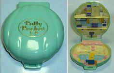 if you played with the *original* polly pocket. Wow this is OLD!