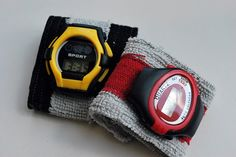 boy's cuff watch from dollar store watches