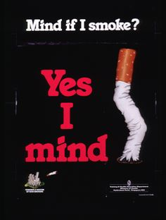 Smoking increases your chance of getting lung cancer. Second hand smokers can also be affected.