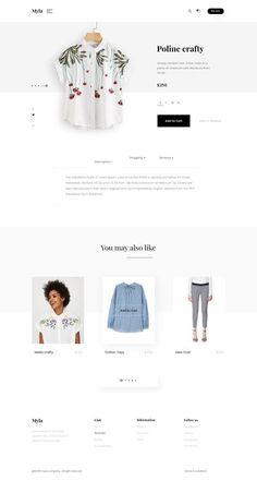 jpg by Jabel Ahmed Website Design Inspiration, Fashion Website Design, Minimalist Graphic Design, Minimal Web Design, Page Layout Design, Web Layout, Ecommerce Web Design, Ecommerce Store, Store Layout