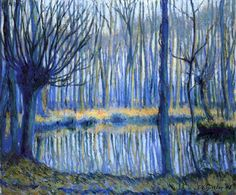 Theodore Earl Butler -The Epte, Giverny ,1908
