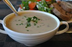 Cream of Mushroom Soup food mushroom soup healthy food healthy eating healthy eating images healthy eating photos healthy eating pictures healthy food images healthy food pictures food images food pictures cream of Healthy Soup Recipes, Vegan Recipes, Healthy Foods, Vegan Food, Food Food, Image Healthy Food, Healthy Eating, Creamed Mushrooms, Stuffed Mushrooms