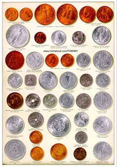 Coins Around The World Rare Gold, Silver and Copper Coins and Currency
