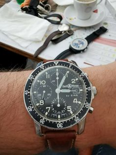 Montre Chronograph Bell&ross By Sinn Vintage Bell Ross, Omega Watch, Chronograph, Amp, Vintage, Stuff To Buy, Accessories, Ebay, Clock Art