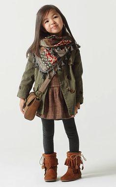 Zara Kids F/W Lookbook