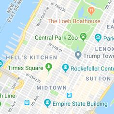 An optimized walking tour around NYC
