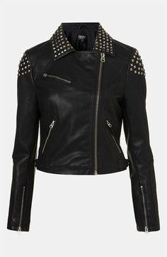 Studded Biker Jacket - Kinda love this