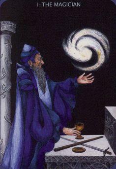 Today's tarot scope -- The Magician -- featuring the Anna K. Tarot, by Anna Klaffinger, available through Anna's personal site and through Llewellyn. The Magicians, Le Bateleur, Tarot Cards Major Arcana, The Magician Tarot, Spirit Magic, Le Tarot, Vladimir Kush, Online Tarot, Joker
