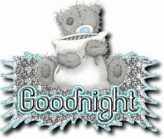 Animated Good Night Graphics | ... com/images/54/2013/06/good-night-animated-bear-glitter.gif[/img][/url