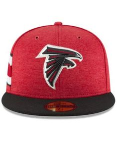 19aa34e4e New Era Atlanta Falcons On Field Sideline Home 59FIFTY Fitted Cap -  Red/Black 7 1/2