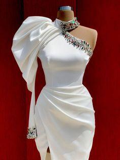 Glam Dresses, Elegant Dresses, Pretty Dresses, Beautiful Dresses, Fashion Dresses, Unique Dresses, Classy Dress, Classy Outfits, Elegantes Outfit