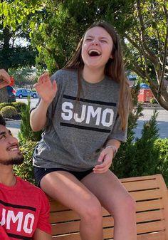St. Joe Heather Grey SJMO Block and Bars Short Sleeve T-Shirt - 57101629