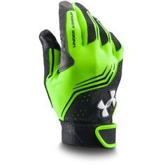 Under Armour Men's UA Clean Up Batting Gloves (2725 RSD) ❤ liked on Polyvore featuring men's fashion, men's accessories, men's gloves and hyper green Yamaha R6, Batting Gloves, Football Gloves, Cycling Gloves, Mens Gloves, Under Armour Men, Clean Up, Ua, Biker